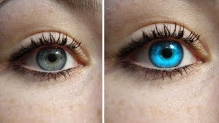 How to Colorize Blue Eye Photoshop Tutorial