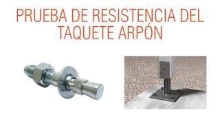 TAQUETE ARPÓN