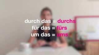 Němčina pro samouky mit Jitka 12: Předložky se 4. pádem