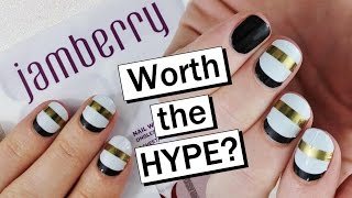 JAMBERRY NAIL WRAPS | First Impression & Review | Nailed It NZ