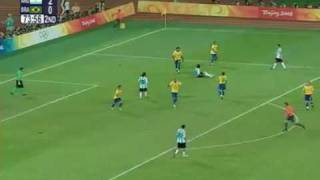 Olimpíadas 2008: Brasil 0x3 Argentina