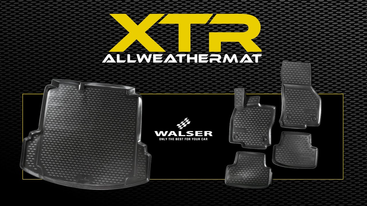 Preview: XTR Boot mat for VW Touareg, two-zone air conditioning year 2010 - 2018