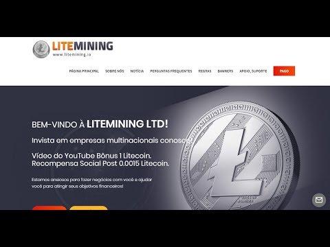 VEJA NOVO SITE (LiteMining) PARA NOS DIVERSIFICAR NOSSO CAPITAL LANÇADA DIA 24/09