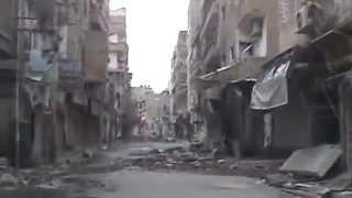 preview picture of video 'D.P.N || DEIR EZZOR CITY:: Destruction in Cinema Fouad Street part3 18-11-2012'