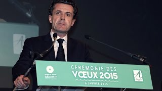 Cérémonie Des Voeux 2015 Du Maire D'Angers ( Extrait )