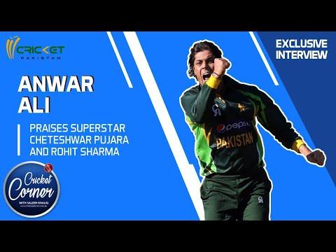 Anwar Ali praises 'superstars' Pujara, Sharma