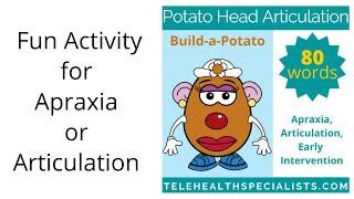 Interactive Apraxia And Articulation Activity For Multiple Ages