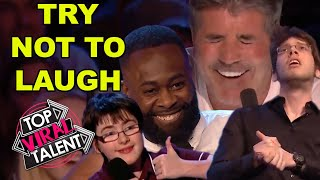 TRY NOT TO LAUGH At These HILARIOUS ACTS From Britain's Got Talent!!