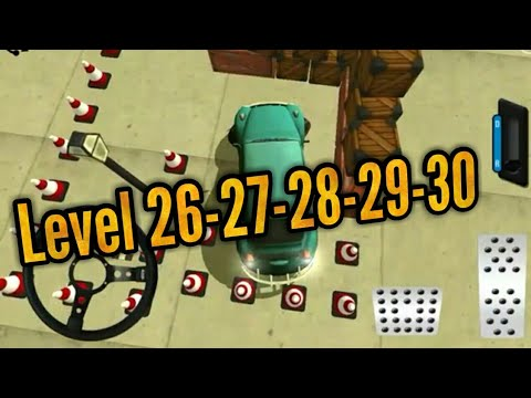 Classic car parking level 26-27-28-29-30 Android/iOS Gameplay/Walkthrough