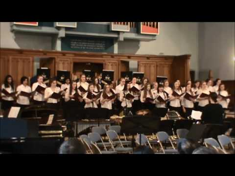 Fields of Gold - Girls' Division Sr Choir (May Serenade 2017)