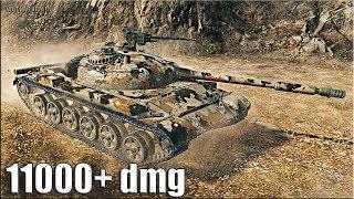 Объект 140 нагиб 11000+ dmg 🌟🌟🌟 World of Tanks лучший бой об 140 максимальный урон wot