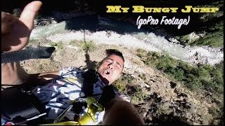 GoPro POV SHOT OF MY BUNGY JUMP ARRIVES