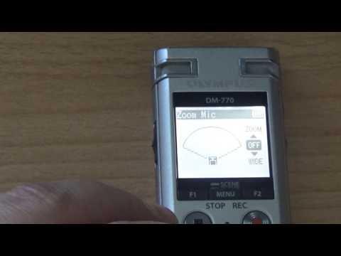 merkst.de: Olympus DM-770, mehr als ein Diktiergerät mit erweiterter Sprachausgabe