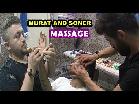 ASMR TURKISH BARBER=LEGEND PALM MASSAGE=BARBER SHOP=head,back,arm,ear,neck,sleep,face,energy massage