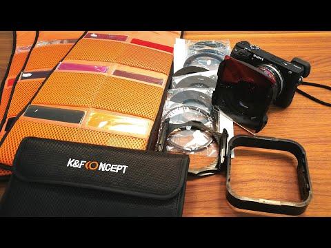 K&F concept 40 in 1 Filterset Verlaufsfilter Farbfilter ND Filter GND Filter