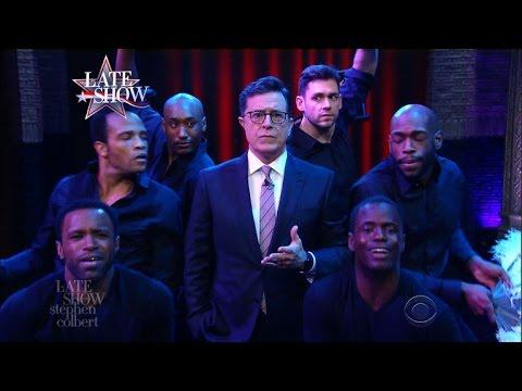 As 2017 Dawns, Stephen Colbert Suffers A Mariah Moment