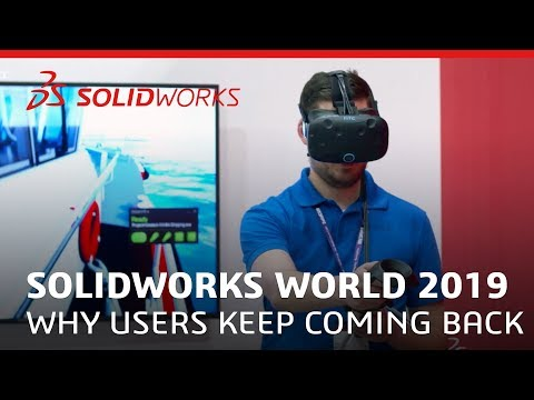 SOLIDWORKS World 2019 - Why Users Keep Coming Back