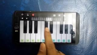 M.S Dhoni movie music on piano
