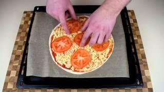 Пицца Маргарита за 10 мин I Пицца из лаваша