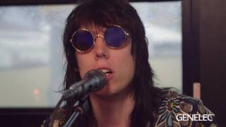 "The Struts - ""Kiss This"" (Acoustic) on John Lennon Bus @ Hangout Fest"