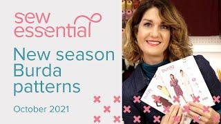 New Season Burda Patterns - October 2021