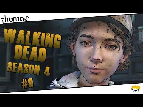 The Walking Dead 4 - |#09| - Vypjatá atmosféra! | Český Let's Play | Částečný překlad