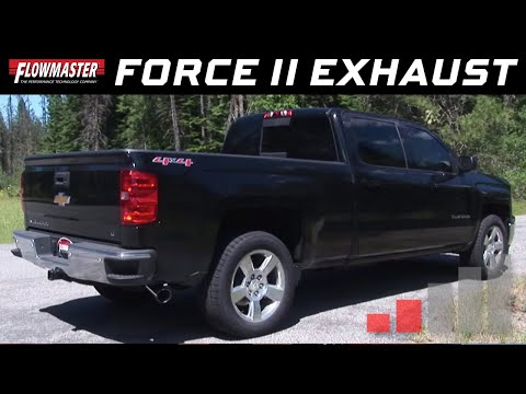 2014-19* GM Silverado/Sierra 1500 4.3L, 5.3L - Force II Cat-back Exhaust System 817672