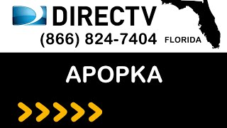 Apopka FL DIRECTV Satellite TV Florida packages deals and offers