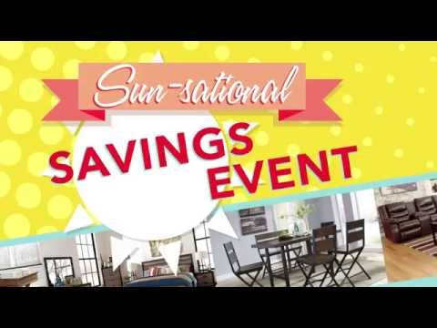 Sun-Sational Savings Event