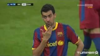 Mascherano, Pedro, Busquets - My face hurts