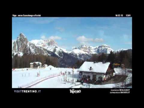 Vigo di Fassa - Timelapse - Febbraio 2013