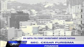 'Investment grade rating is a landmark achievement for PH'