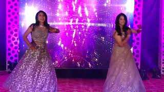 Sisters' Dance at Brother's Wedding Sangeet