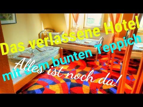 Lost Place - Das verlassene Hotel mit dem bunten Teppich (Alles ist noch da- kein Vandalismus)