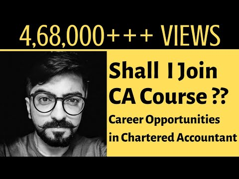 CA Course is for what type of students? Career Opportunities in ...