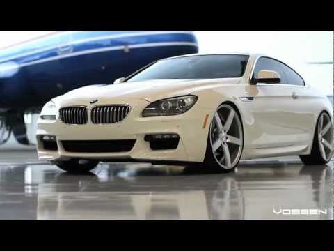 "BMW F13 6 Series 650i on 22"" Vossen VVS-CV3 Concave Wheels / Rims"