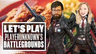 Let's Play PUBG Deadly Duos: Aoife and Johnny Mean Business AND CHICKEN