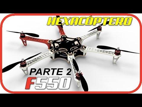 Construir Hexacóptero F550  - Montando Controladora APM y Motores - Parte 2