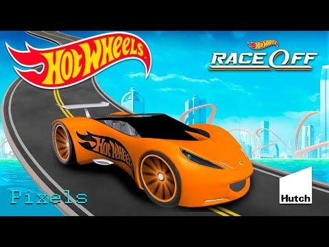 Hot Wheels Race Off Super Car Lotus Concept