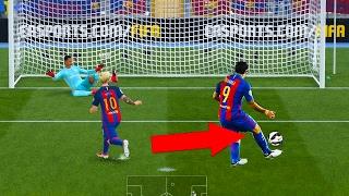 Was passiert beim MESSI und SUAREZ ELFMETER?! 🔥😱 FIFA 17 Myths