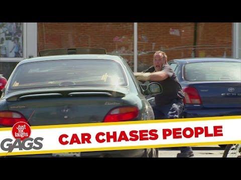 The Vengeful Car - Hilarious Prank!