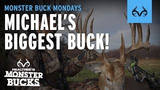 Michael Waddell's Biggest Buck Ever | Monster Bucks Mondays Presented by Midway USA