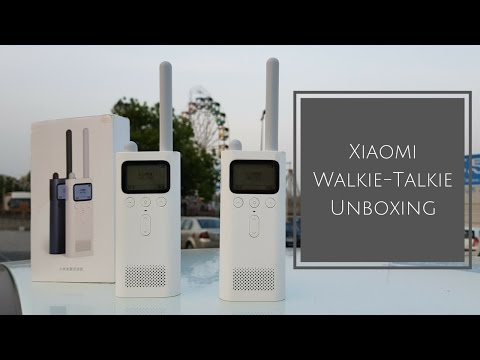Xiaomi Mi Walkie-Talkie Unboxing, Demo & Range Test in Outdoors