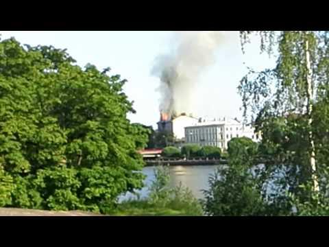 Пожар в г.Віборг