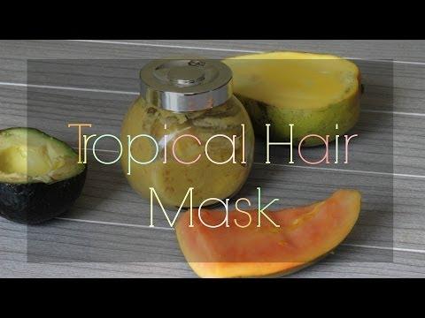 Mask at shampoo para sa buhok na may keratin