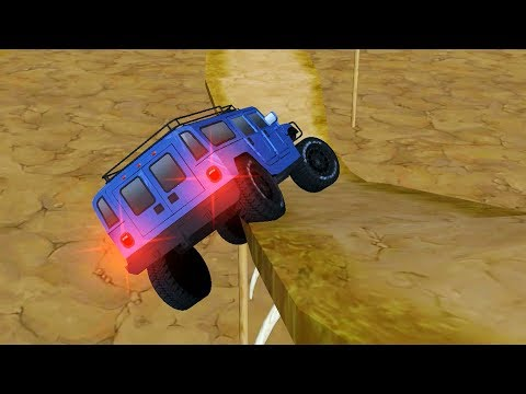 Mountain 4x4 Climb - Will The Car Not Fall? Level 51-57 | Android Gameplay HD