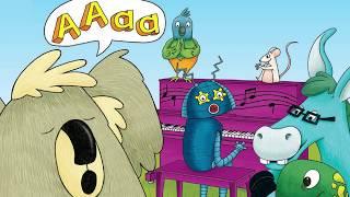 Flagada le koala chante AAA