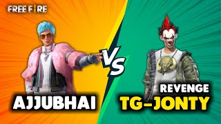 Revenge Ajjubhai94 vs TG Jonty Best Clash Battle Who will Win - Garena Free Fire