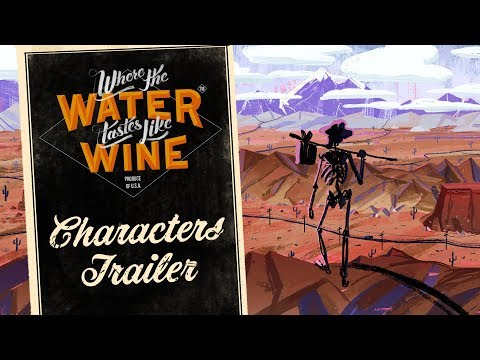Where The Water Tastes Like Wine - Characters Trailer Featuring Sting thumbnail