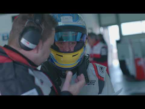 2018 Toyota WEC TS050 on-track footage